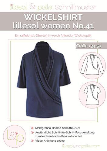 Lillesol & Pelle Schnittmuster women No41 Wickelshirt Papierschnittmuster