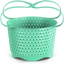 Silicone Steamer Basket Compatible With Instant Pot, Ninja Foodi Pressure Cookers 5-Qt 6-Qt 8-Qt - Silicon Steam Strainer Insert Accessories For Steaming Food, Vegetable