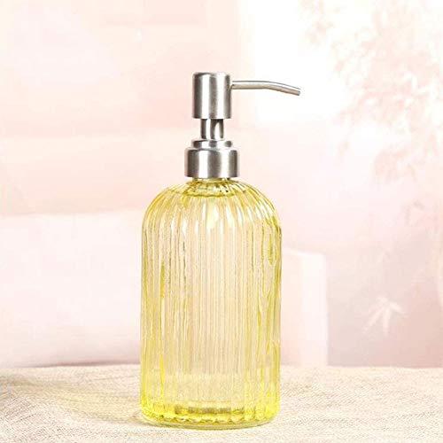 500 Ml Glazen Zeep Shampoo Gel, Shampoo Kostschool Cafetaria Lege Fles Van Het Douchegel