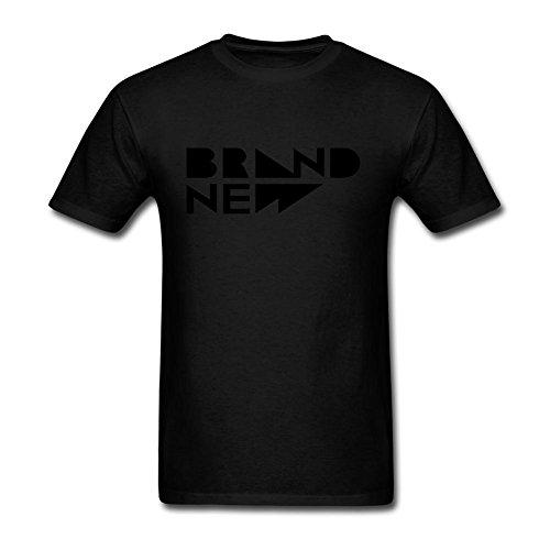 ZHENGXING marca nueva de los hombres Logo camiseta manga corta S ColorName