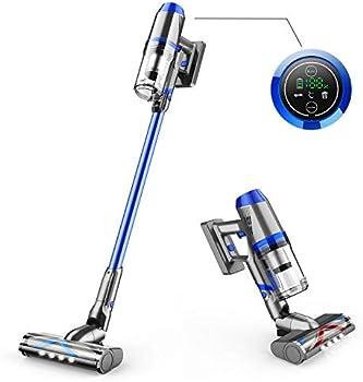Onson 4 in 1 Upgraded V-Shape Brush Cordless Vacuum Cleaner