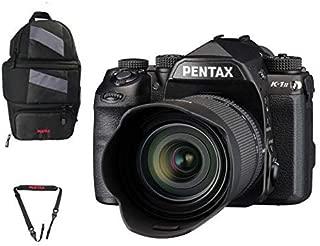 Pentax K-1 Mark II 36MP Full-Frame CMOS Sensor DSLR Camera (w/28-105mm Lens) w/ Pentax 85231 Sling Bag 2 and Pentax 85232 Padded DSLR Strap
