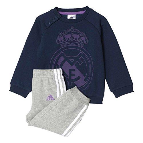adidas I Real Jogger Pantalones de Chándal, Niños, Azul (Maruni/Vioray), 104