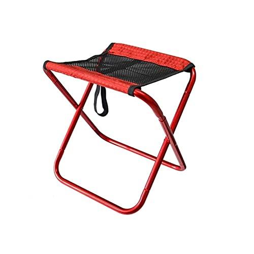 Mirui Silla Camping Plegable sillas Plegables Camping Sillas Plegables al Aire Libre de la Pesca Luz Barbacoa señuelo Acampar en Fila boceto Malla Transpirable Taburete Plegable con el Bolso