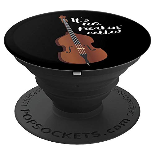 Funny Double Bass Quote Orchestra Gift PopSockets Grip and Stand for Phones and Tablets