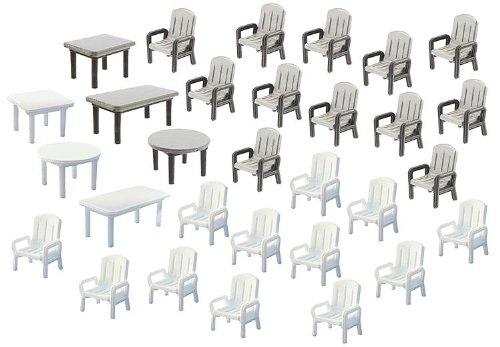 FALLER 180439 - Gartentische und -stühle