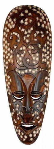 Máscara Hotpoint ARIS 50 cm, madera de máscara de Bali, pared Máscara, decoración de pared, madera Máscara