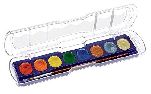 Giotto 949304 Etui d'aquarelles Couleurs Métallisés