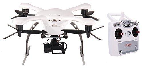 Ehang Ghost Drone quadrirotore aereo (Android/bianco) con trasmettitore i8 – Compatibile con GoPro Hero 2/3/3 +/4 fotocamera.