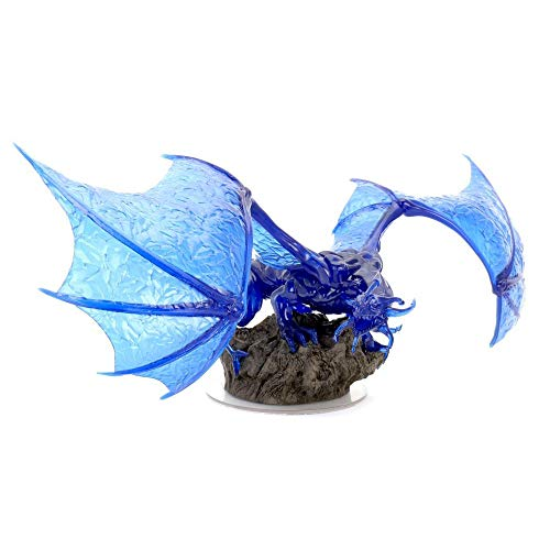 WizKids D&D Icons of The Realms: Sapphire Dragon Premium Figure