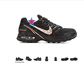 Custom Bedazzled Shoes for Women   Nike Air Max Torch 4   Running Shoes