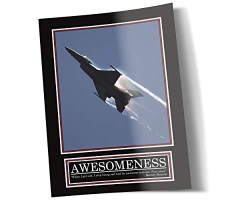 GREAT ART Awesomeness Poster – Original Barney Stinson Wandposter – 85 x 60 cm Jet How I met Your Mother Motivation Barney Stinson Office Awesome Suit Up Bilder Plakat – Nr. 1