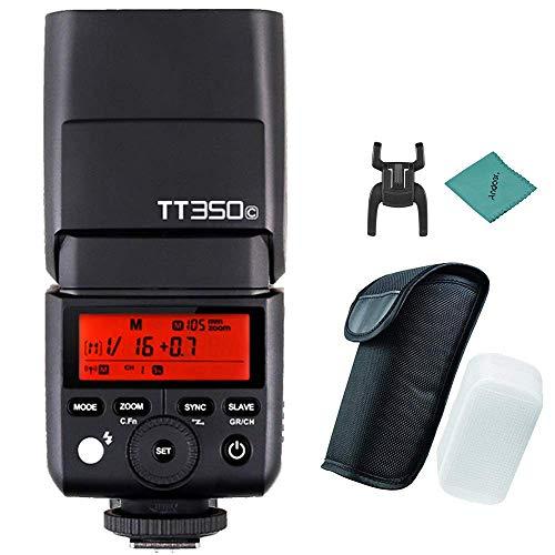 Godox Thinklite TT350C ミニ 2.4G ワイヤレス TTL カメラ フラッシュ マスター&スレーブ スピードライト 1/8000s HSS Canon 5D MarkIII 80D 7D 760D 60D 600D 30D 100D 1100D デジタル Xカメラ用