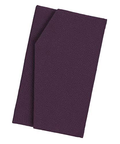 ふくさ 袱紗 紫 金封 結婚式 慶弔 両用 日本製 【マグネットホック式】