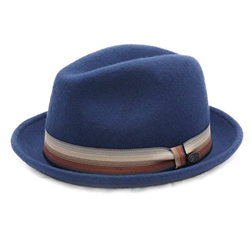 Bailey of Hollywood - Chapeau Trilby Feutre Homme ou Femme Kluge - Taille M