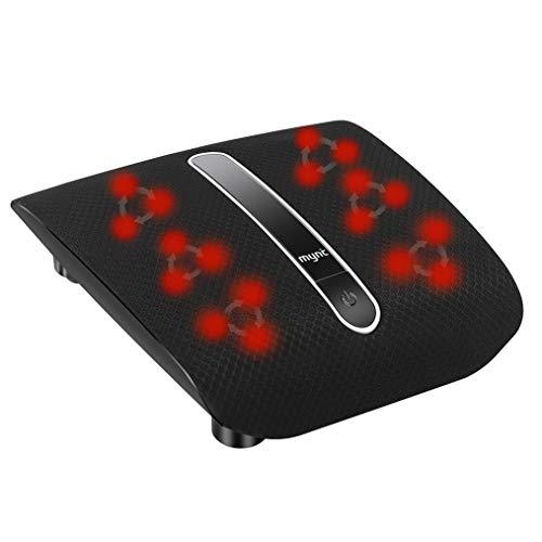 Shiatsu Foot Massager with Heat, Deep Kneading Electric Foot Massage Machine for Plantar Fasciitis...