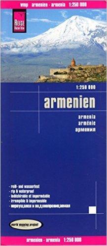 Reise Know-How Landkarte Armenien (1:250.000): world mapping project ( Folded Map, 15. Dezember 2014 )