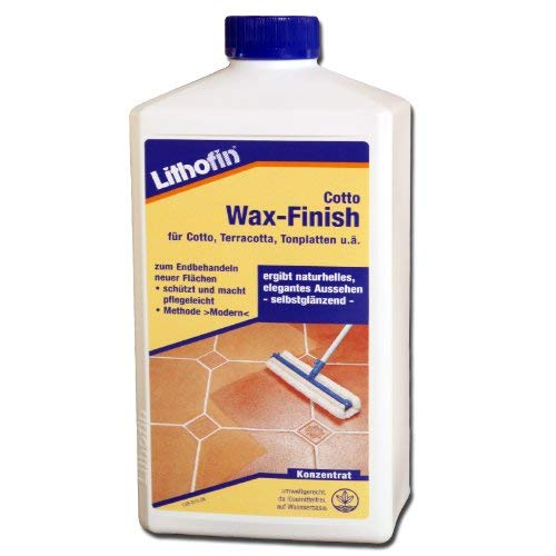 Lithofin Cotto Wax-Finish 1 Liter