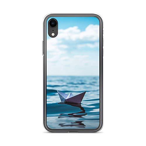 blitzversand Funda para teléfono móvil Boat Trip Relax compatible con LG G5, barco de papel mar, funda protectora transparente alrededor de protección dibujos animados M10