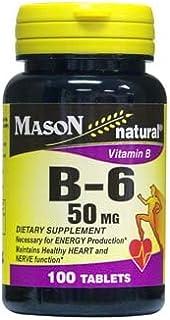 MASON NATURAL, B 6 50MG