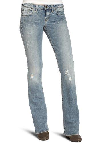Silver Jeans Co. vrouwen zilver Alex lage Rise licht wassen Bootcut Jean