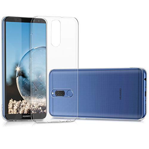 kwmobile Hülle kompatibel mit Huawei Mate 10 Lite - Silikon Handyhülle transparent - Handy Hülle in Transparent