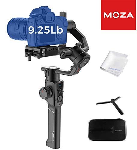 Moza Air 2, stabilizzatore palmare Gimabl a 3 assi, display OLED, sistema di controllo intelligente time-lapse, per fotocamere DSLR, mirrorless e Pocket Cinema, carico di 4,5 kg (MOZA Air 2)