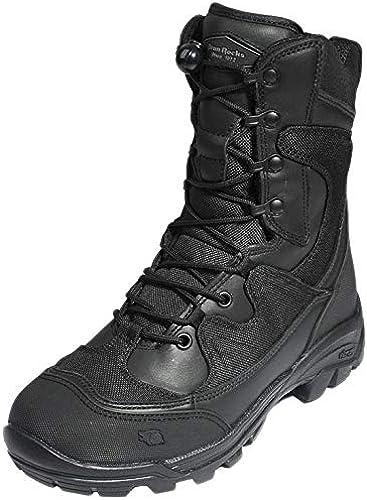 ANNMAX Bottes de Combat pour Homme Chaussures de Sport de Plein air Chaussures Tactiques de randonnée Chaussures de randonnée Noir 47