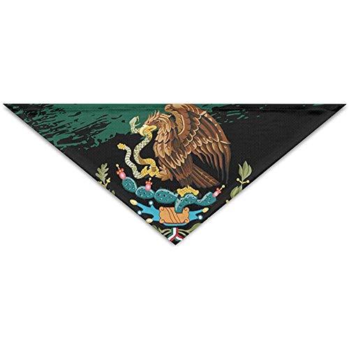 Emilde Mexicaanse vlag Grunge huisdier sjaal hond kat Bandana kragen driehoek halsdoek