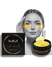 24karaats gouden hydrogel collageen oogmasker en hyaluronzuur 100% Vegan-Cruelty Free. 60 eye patches met anti-aging effect. Rimpel, donkere kringen, wallen en rimpels worden geëlimineerd