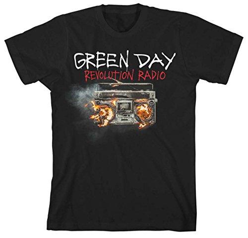 Camiseta Green Day Revolution Radio (Negro) - xx-large