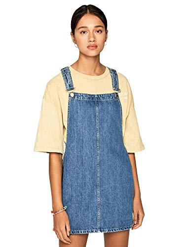 Pepe Jeans PL952699 Robe de soirée, Azul (Denim 000), Large para Mujer