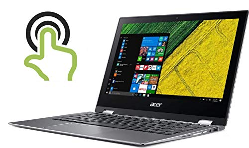 Acer High Performance Spin 11.6in FHD IPS 1920 x 1080 Multi-Touch Laptop, Intel Pentium N4200 Quad-core Up to 2.5GHz, 4GB RAM, 64GB SSD, 802.11ac WiFi, Bluetooth, HDMI, Win 10 (Renewed)