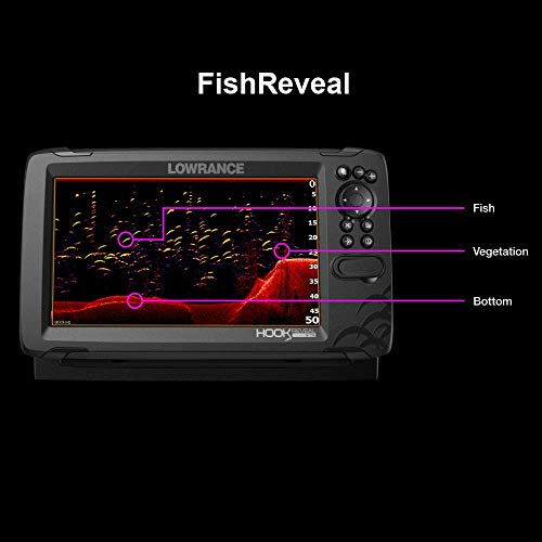 Lowrance HOOK Down imaging sonar fish finder