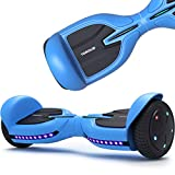 TOMOLOO Hoverboard Bluetooth and Flash Led Lights Wheels, Kids Hover Board with UL Certified, Self Balancing Hoverboards for Adults