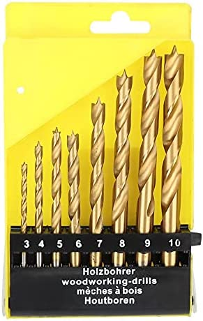 Drill Bits For 8pcs Wood Drilling High Wo Bit Easy-to-use 3-10mm Steel Speed All items free shipping