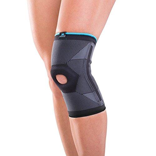 DonJoy Advantage DA161KS02-BLK-XL Deluxe Elastic Knee for Sprains, Strains, Swelling, Soreness, Arthritis, Knee Cap Support, Black, XL fits 17', 19'
