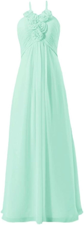 DaisyFormals® Long Halter Evening Dresses Aline Women Party Dress(BM325L)