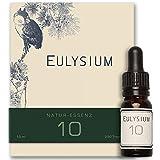 EULYSIUM® • Entspannt den Körper - Beruhigt den Geist • Bio-Hanfsamen-Öl • Naturessenz • 10 ml I 50 Anwendungen I 250 Tropfen • Bio - Vital - Omega 3/6/9
