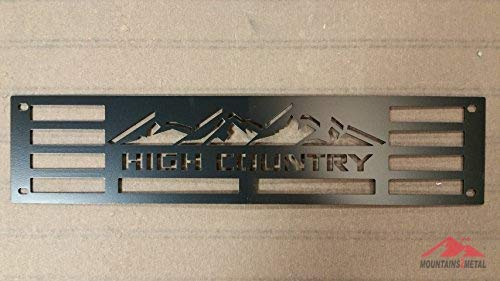 Mountains2Metal HIGH Country Edition Black Compatible with 2015-2019 Chevy 2500 3500 HD M2M #400-130-1