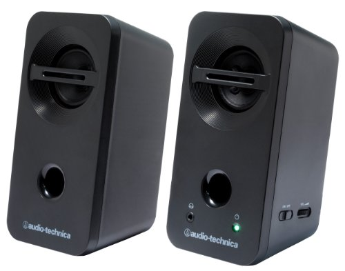 オーディオテクニカ デスクトップスピーカー ブラック AT-SP93 BK