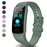 Fitness Tracker - Activity Tracker with Heart Rate Monitor - Waterproof Smart Watch with Step...