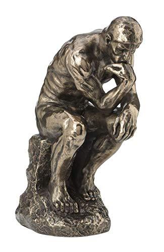 Veronese 708-7464 Figur Der Denker Auguste Rodin bronziert Skulptur Statue