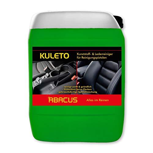 5 L KULETO Tornador-Reiniger Kunststoff- & Lederreiniger gebrauchsfertig (1185.5) - Kunststoffreiniger, Lederreiniger, Plastikreiniger für gummierte Oberflächen Leder Reiniger