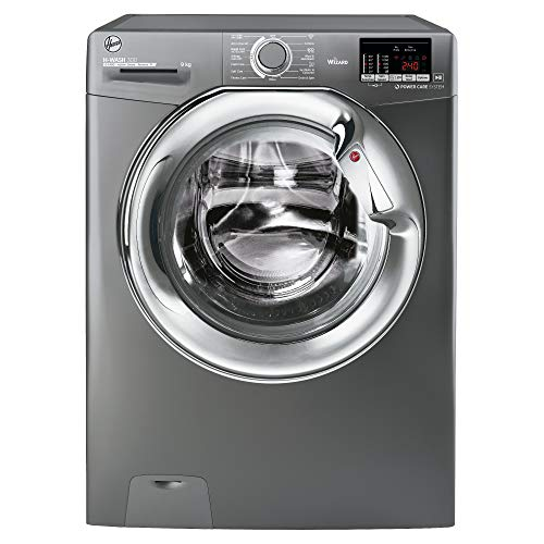 Hoover H3DS4965DACGE 9KG Wash 6KG Dry 1400RPM Washer Dryer- Graphite with Chrome Door