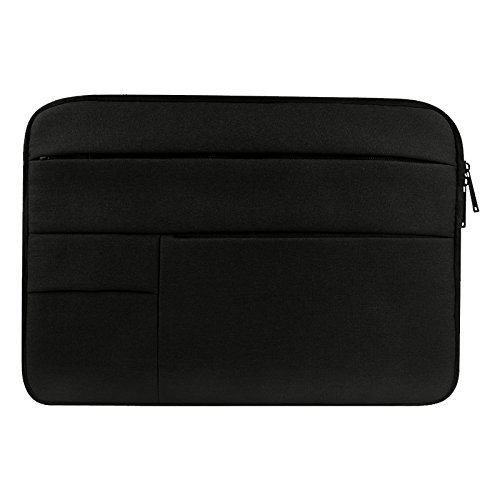 SHUHAN Computer Laptop Accessory Universal Multiple Pockets Wearable Oxford Cloth Soft Portable Leisurely Laptop Tablet Bag, For 12 inch and Below Macbook, Samsung, Lenovo, Sony, DELL Alienware, CHUWI