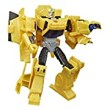 Transformers E7084ES0 Bumblebee Cyberverse Adventures Action Attackers Warrior-Klasse Bumblebee Action-Figur, Sting Shot Attacke, 13,5 cm