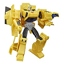 5.4-INCH BUMBLEBEE FIGURE: Warrior Class Bumblebee figure is 5.4-inches tall. REPEATABLE ATTACK MOVE: Convert the heroic Bumblebee to activate his signature Sting Shot move. Fun attack move can be repeated through easy reactivation steps. 2-IN-1 CONV...