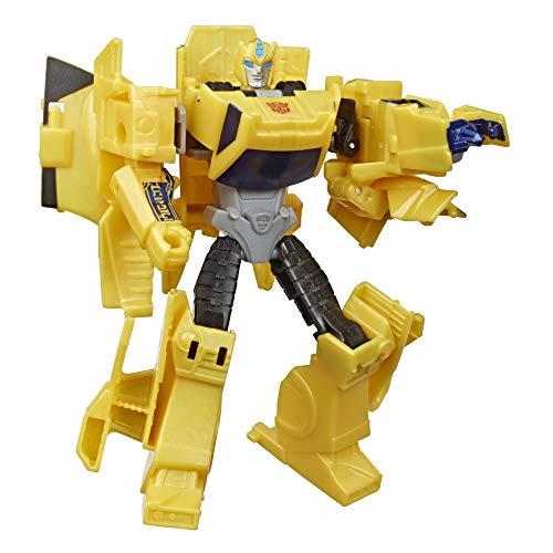 Transformers E7084ES0 Bumblebee Cyberverse Adventures Action Attackers Warrior-Klasse Bumblebee Action-Figur, Sting Shot Attacke, 13,5 cm