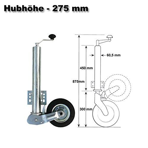 453kg Automatisches Stützrad Automatik klappbar